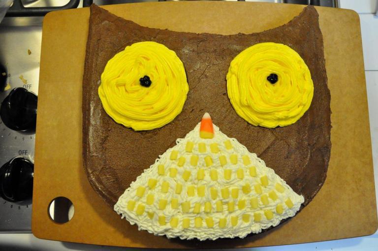 1-owl cake