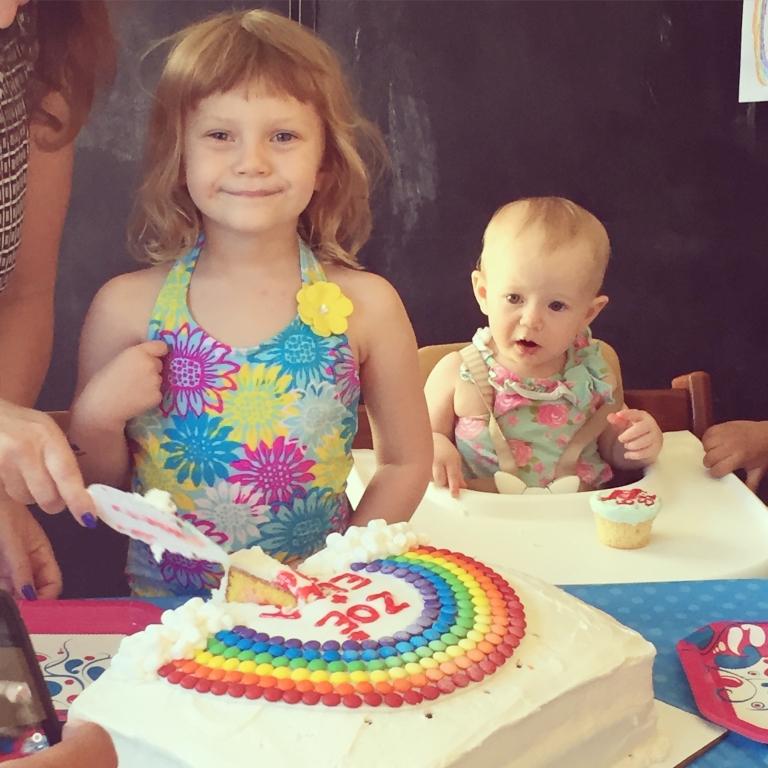 5-rainbow cake