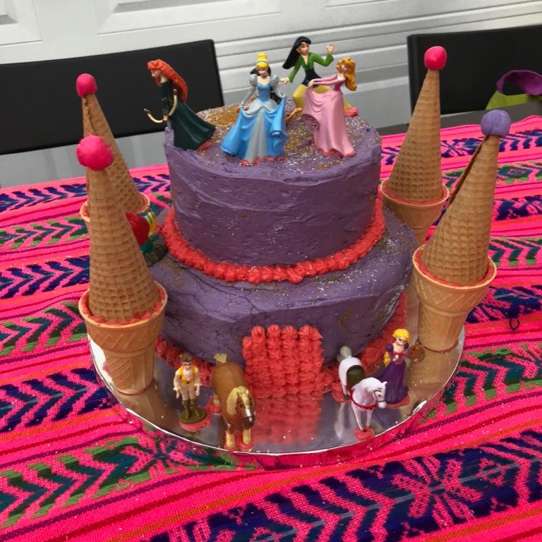 8-princess cake